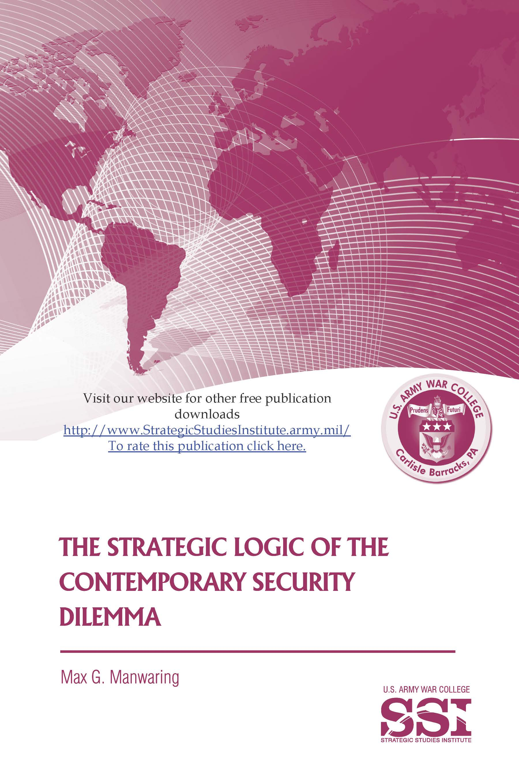 what is the security dilemma and The last opinion is the strategy in security dilemma if previous time, if security dilemma happen in any conflict, the nations and person that cause this problem, we can detect by now the changes happen in security dilemma strategy by the person and states that done this job we can identify and recognizable.