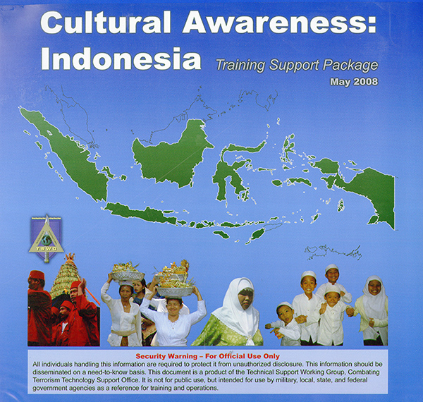 Cultural Awareness: Indonesia Training Support Package Controlled Item  U.S. Government Bookstore