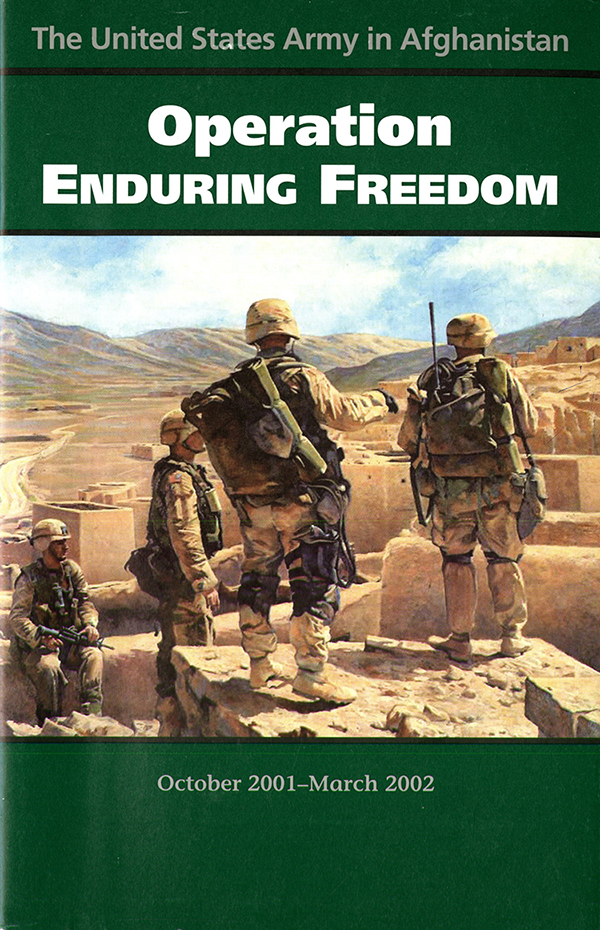 United States Army In Afghanistan Operation Enduring