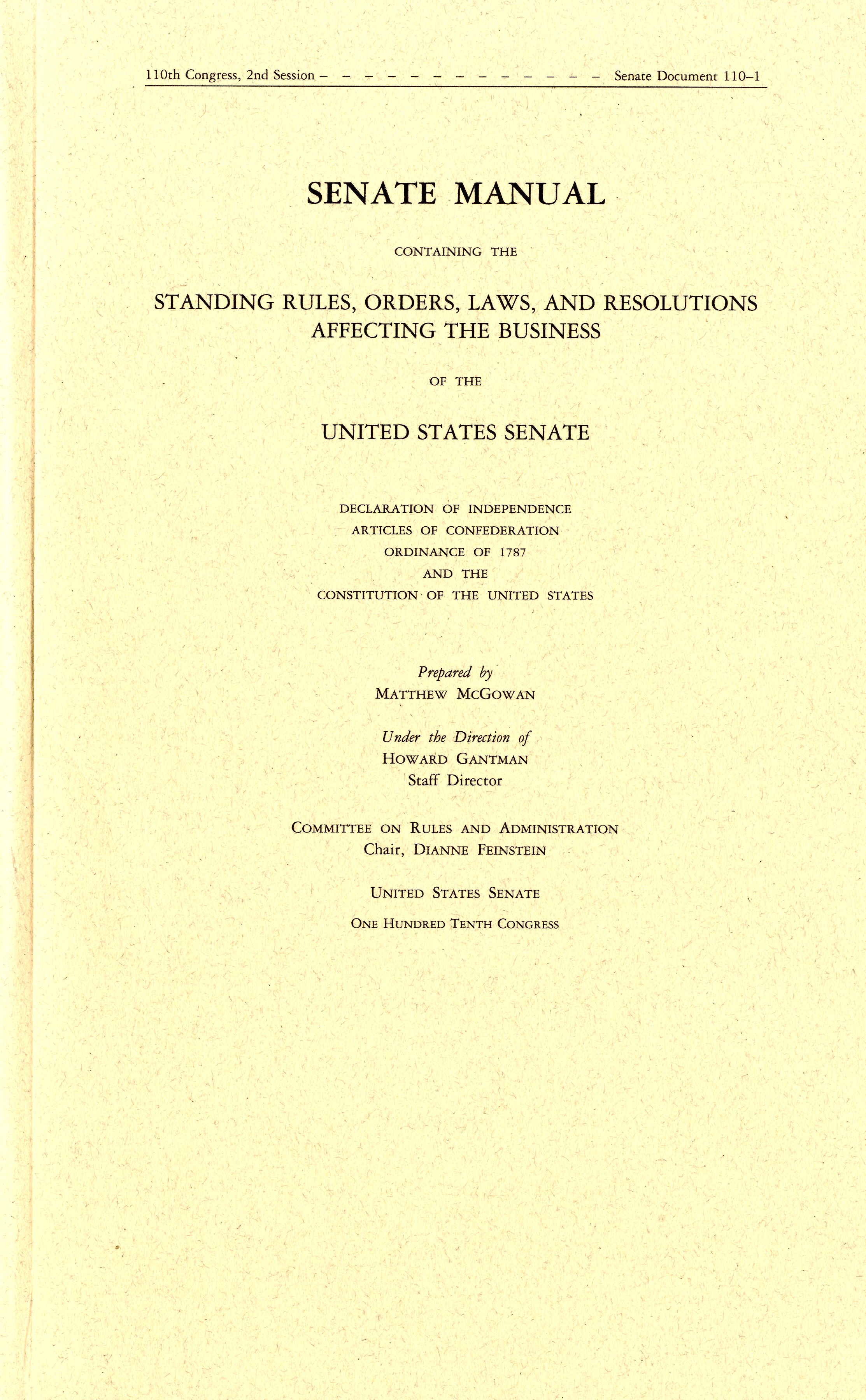 Leadership In The 116th Congress Manual Guide