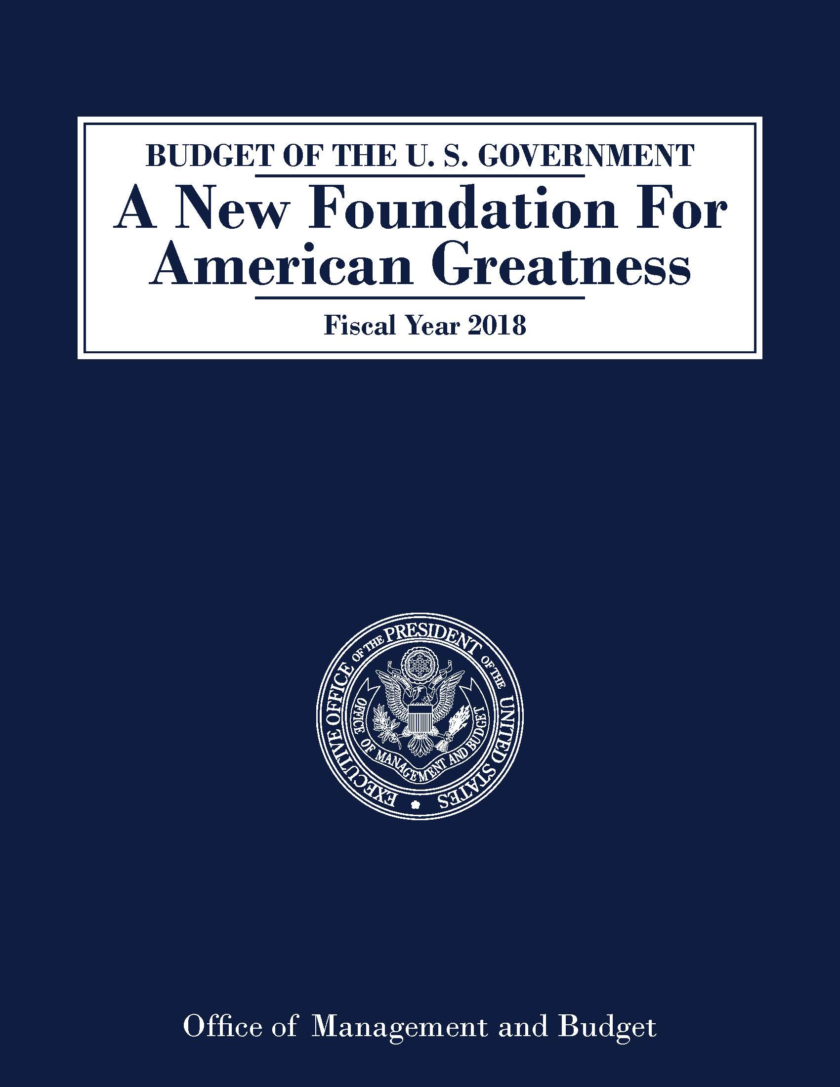 Federal Budgets by Year | U S  Government Bookstore