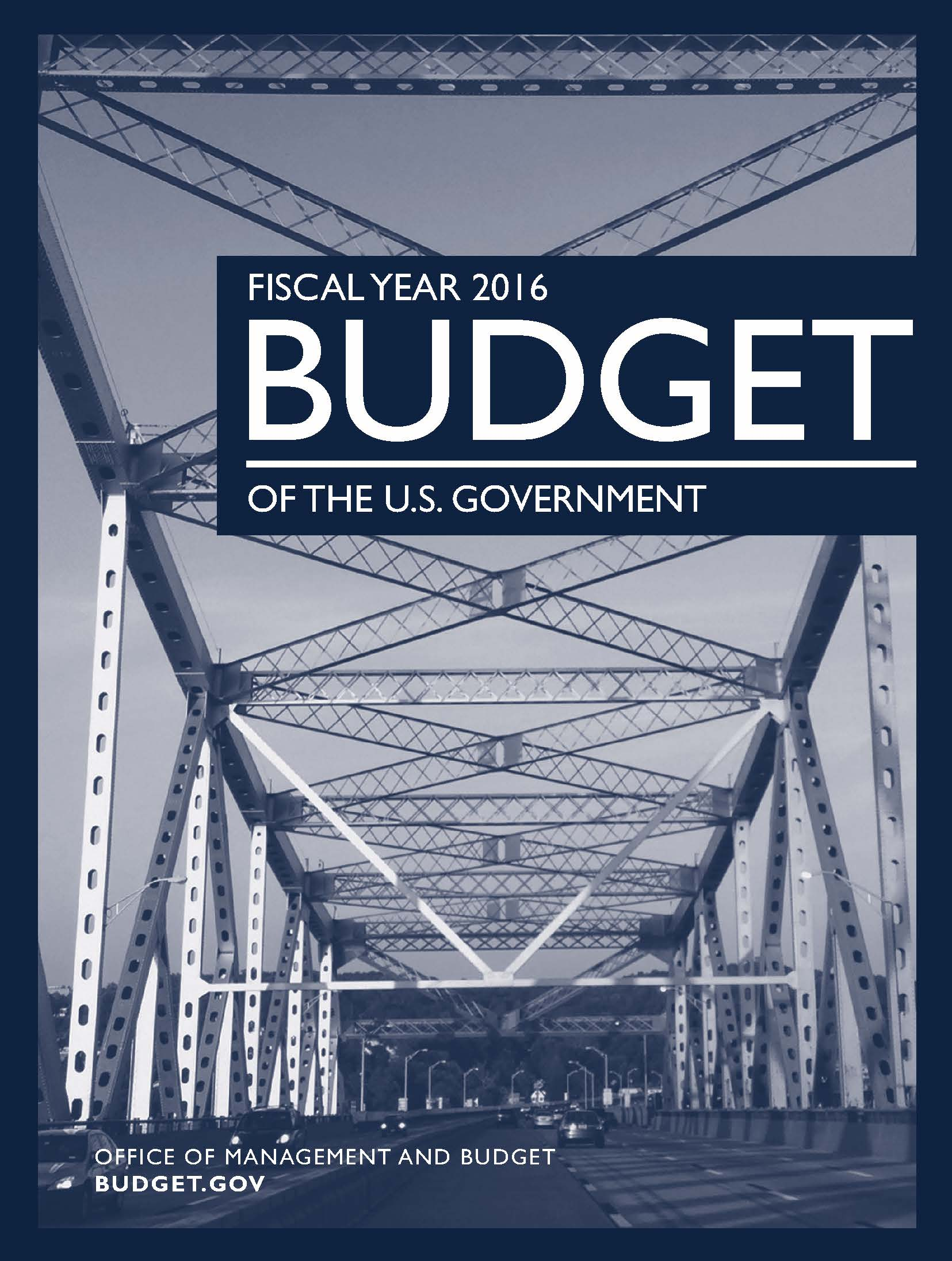 fiscal year 2016 budget of the u s  government  paper