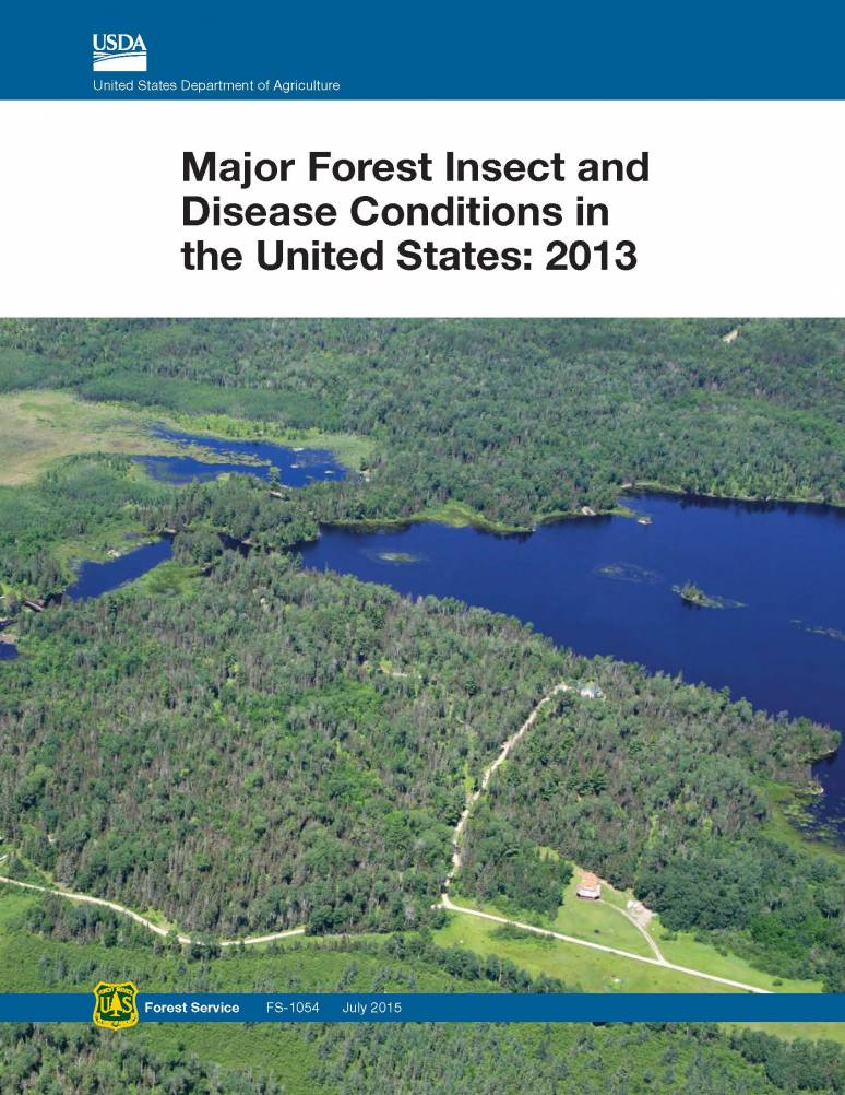Major Forest Insect and Disease Conditions in the United States: 2013