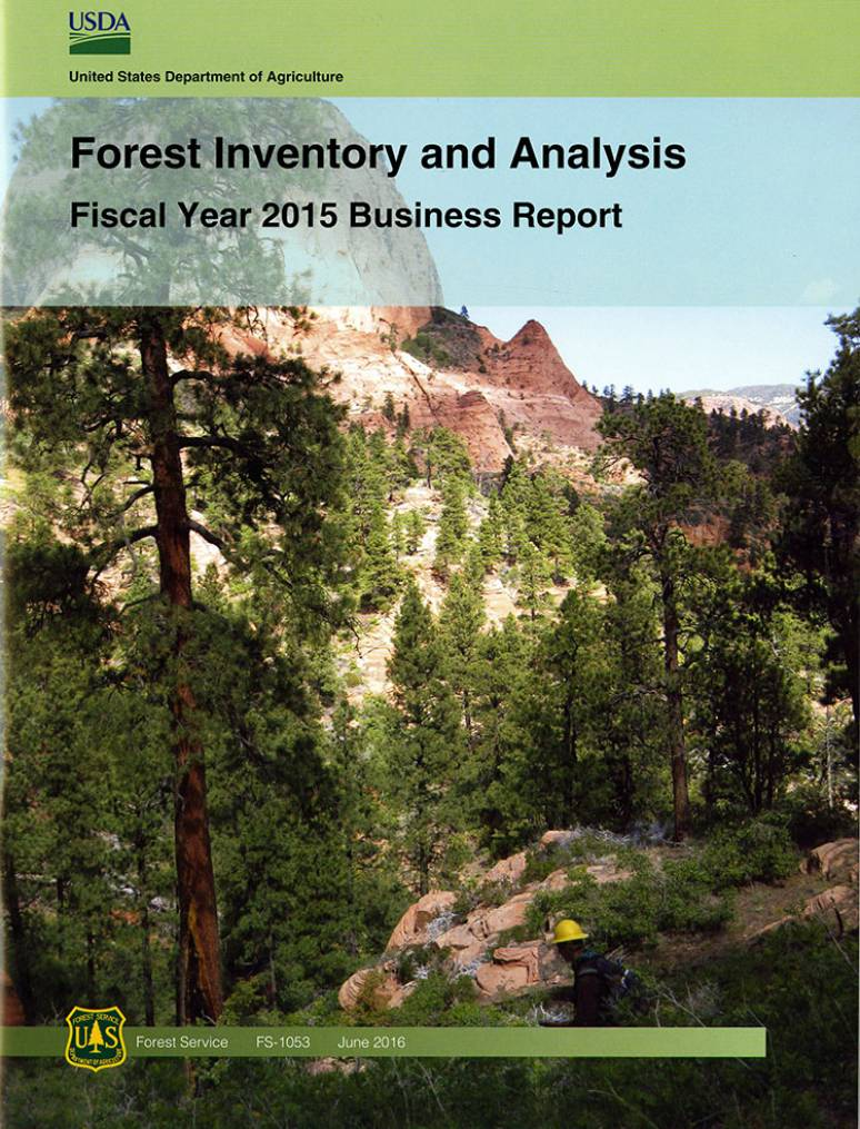 Forest Inventory and Analysis Fiscal Year 2015 Business Report