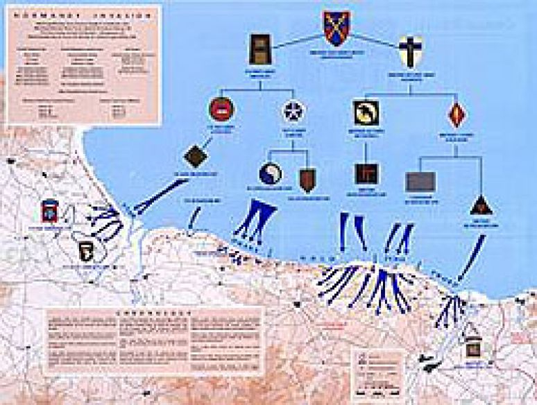 D-Day: The 6th of June (Map)