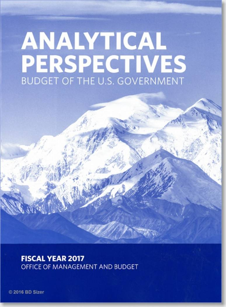 Analytical Perspectives, Budget of the U.S. Government, Fiscal Year 2017