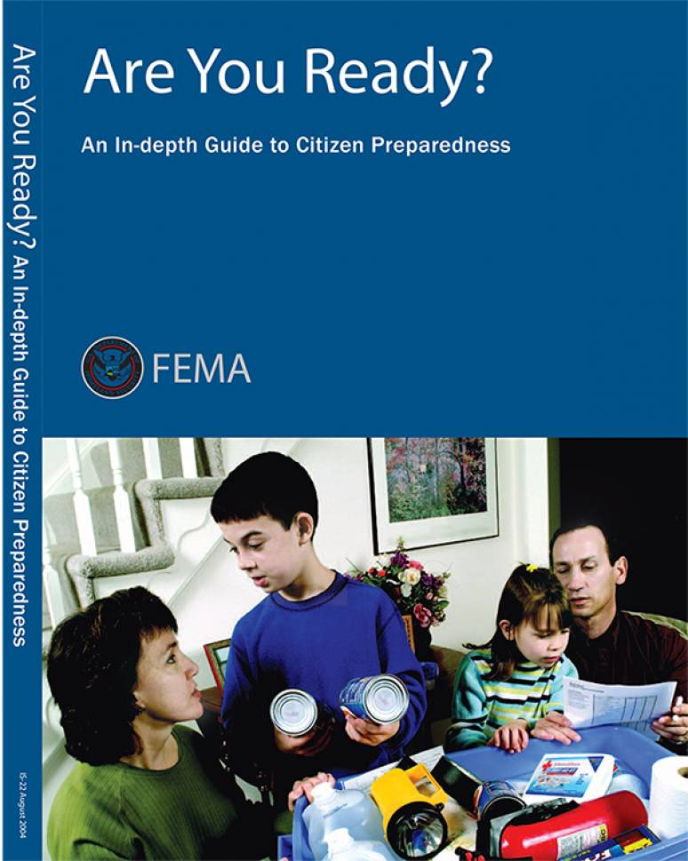 Are You Ready?: An In-Depth Guide to Citizen Preparedness for natural disasters
