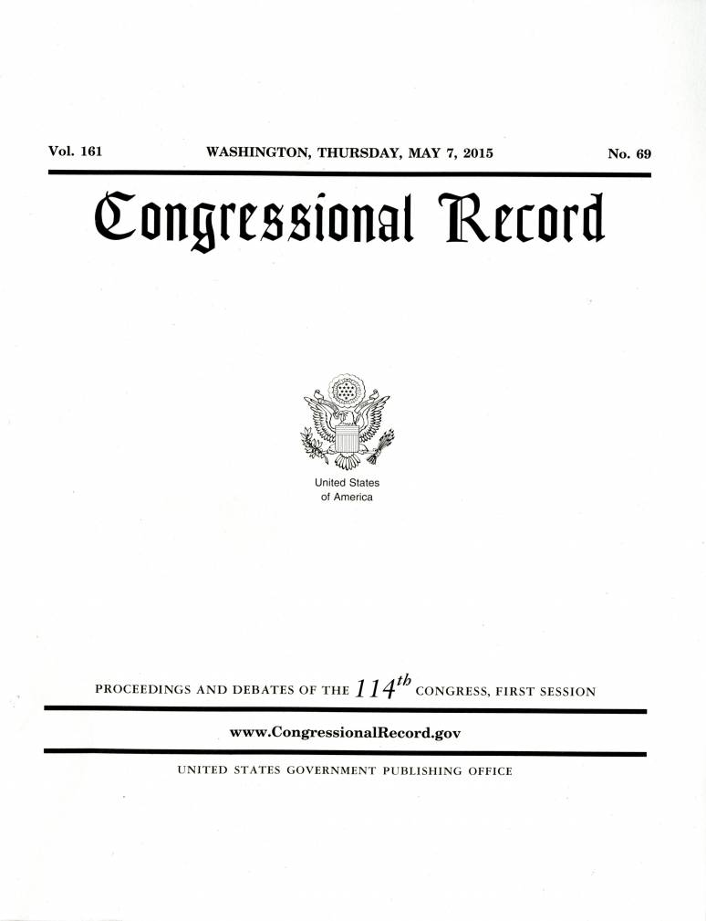 Congressional Record (Government Publishing Office)