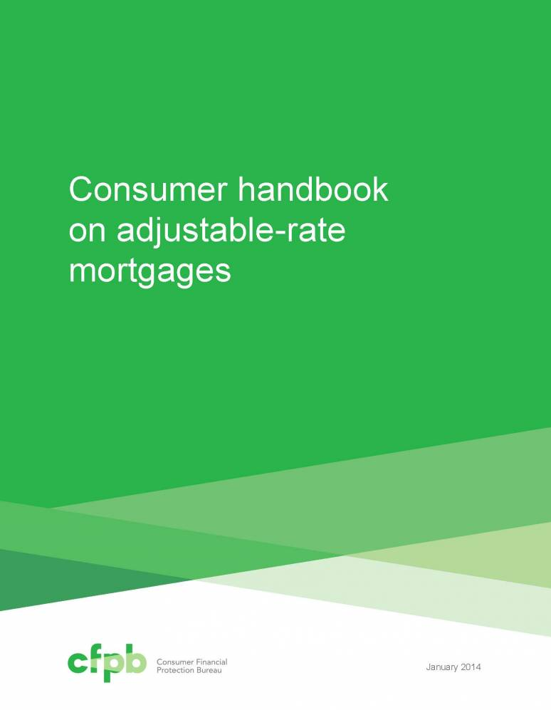 Consumer Handbook on Adjustable Rate Mortgages (ARMs)