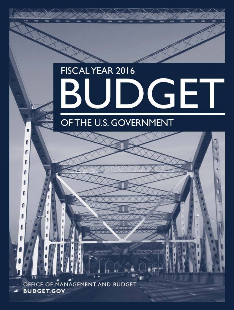 Fiscal Year 2016 Budget of the U.S. Government (Book)