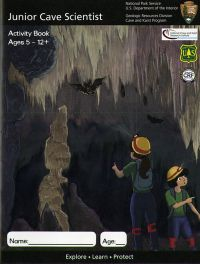 Junior Cave Scientist Activity Book, Ages 5-12+