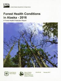 Forest Health Conditions in Alaska, 2016