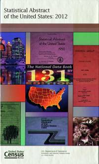 Statistical Abstract of the United States 2012 (Paperback)
