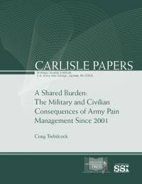 A Shared Burden: The Military and Civilian Consequences of Army Pain Management Since 2001