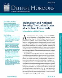 Technology and National Security: The United States at a Critical Crossroads