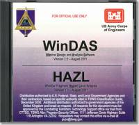 WinDAS Window Design and Analysis Software, Version 2.5 HAZL Window Fragment Hazard Level Analysis, Version 1.1, August 2001 (CD-ROM) (Controlled/Restricted Item)