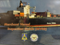 Merchant Vessel Inspection Guide (MVIG) (Package of 5) (TSWG Controlled Item)