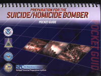 Preparation for the Suicide Homicide Bomber (Pocket Guide) (Package of 5) (TSWG Controlled Item)