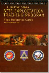 Tactical Site Exploitation (TSE) Field Reference Cards (TSWG Controlled Item)