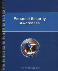 Personal Security Awareness (PSA) Training Package (TSWG Controlled Iteem)