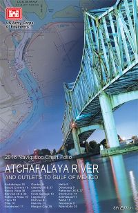 Atchafalaya River and Outlets to the Gulf of Mexico Navigation Charts (2016)