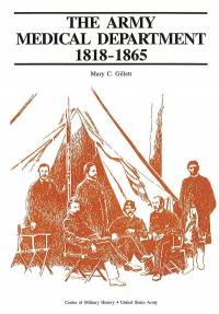 The Army Medical Department, 1818-1865 (Paperback)
