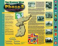Korean War, Phase 5: 9 July 1951 - 27 July 1953 (Poster)