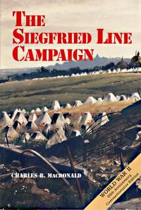 The European Theater of Operations: The Siegfried Line Campaign (Paperback)