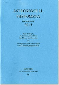 Astronomical Phenomena for the Year 2015