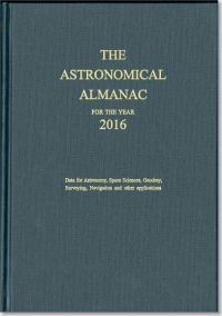 Astronomical Almanac for the Year 2016