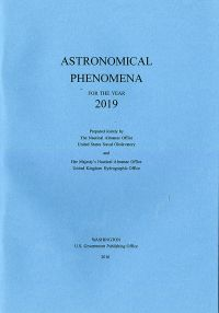 Astronomical Phenomena for the Year 2019