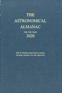 Astronomical Almanac for the Year 2020