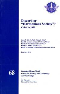 "Discord or ""Harmonious Society"": China in 2030"
