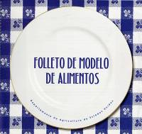 Folleto de Modelo de Alimentos (Spanish Language)