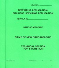New Drug Application: Statistics Section (Green Paper Folder)