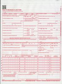 Health Insurance Claim Forms (CMS-1500) 2 Part Continuation (Package of 1400) (2012)