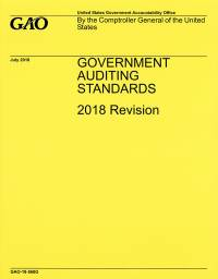 Government Auditing Standards 2018 Revision