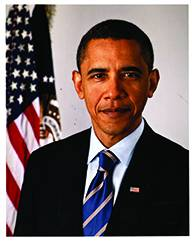 Official Presidential Portrait of Barack Obama (8X10)