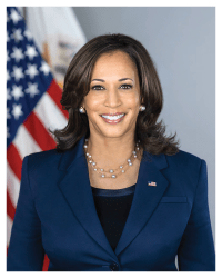 Official Vice Presidential Portrait of Kamala Harris (8x10)