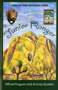 Joshua Tree National Park Junior Ranger Official Program and Activity Booklet