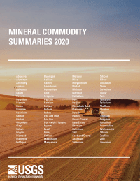 Mineral Commodity Summaries 2020