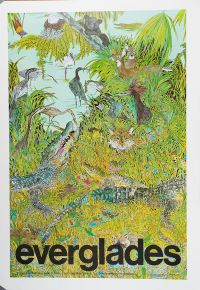 Everglades: Everglades National Park, Florida (Large Poster)
