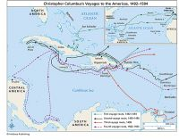 Columbus: Voyages to America, 1492-1504 (Poster)