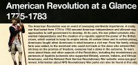 American Revolution at a Glance, 1775-1783 (Package of 100)