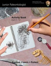 Junior Paleontologist Activity Book, Ages 5-12, Explore, Learn, Protect
