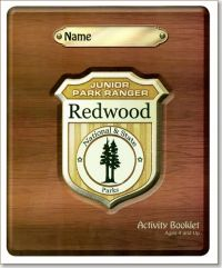 Junior Park Ranger Redwood National & State Parks Activity Booklet, Ages 4 and Up, 2015