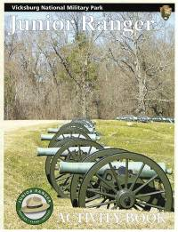Vicksburg National Military Park Junior Ranger Activity Book