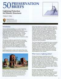 Lightning Protection for Historic Structures