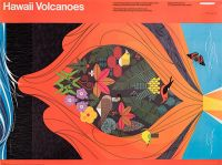 Hawaii Volcanoes (Small Charley Harper Poster) (Poster)