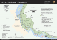 Great Falls Trail FY20 (Flat Map) Chesapeake & Ohio Canal